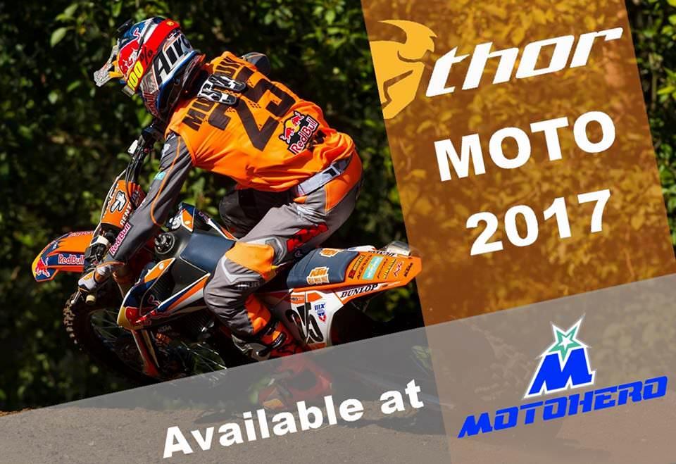 NEU Thor Racewear 2017 bei Motohero