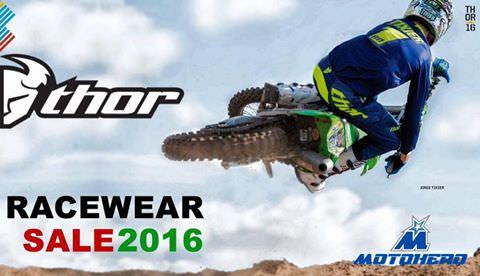Thor Racewear Sale 2016